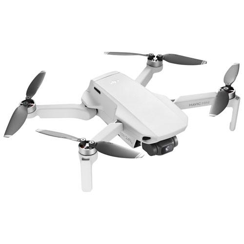 DJI Mavic Mini Quadcopter Drone with Camera & Controller - White