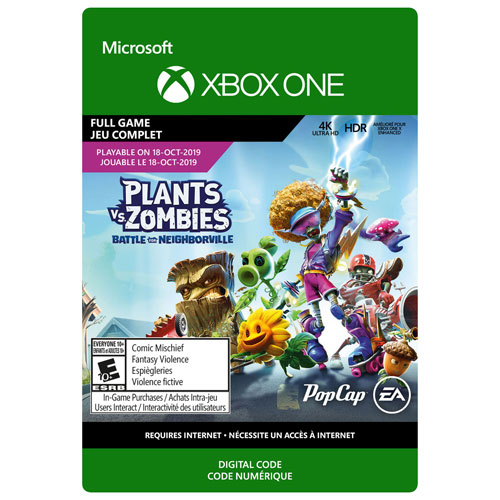 Plants vs Zombies: Battle for Neighborville - Digital Download