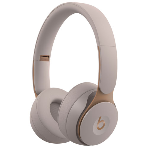 Beats by Dr. Dre Solo Pro On-Ear Noise Cancelling Bluetooth Headphones - Grey MRJ82LL/A