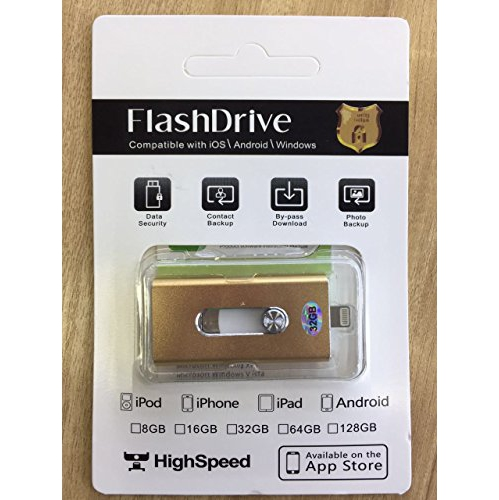 USB3.0 Durable Three USB Memory Stick Capacity : 16GB HENGTONGTONGXUN Applicable iOS Android Phone Three-in-one Flash Drive