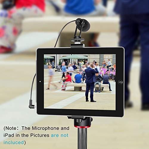 6.3-9.25 inches//16-23.5 centimeters Adjustable Clamp for iPad Mini iPad 2//3//4 Neewer iPad Tablet Tripod Mount Adapter Holder iPad Air//Air2 iPad Pro Microsoft Surface Samsung Tab 7.0 Series