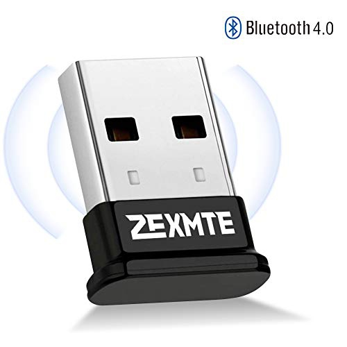 Bluetooth Adapter For Pc Bluetooth 4 0 Usb Wireless Dongle Compatible With Pc Desktop Computer With Windows 10 8 1 8 7 Best Buy Canada