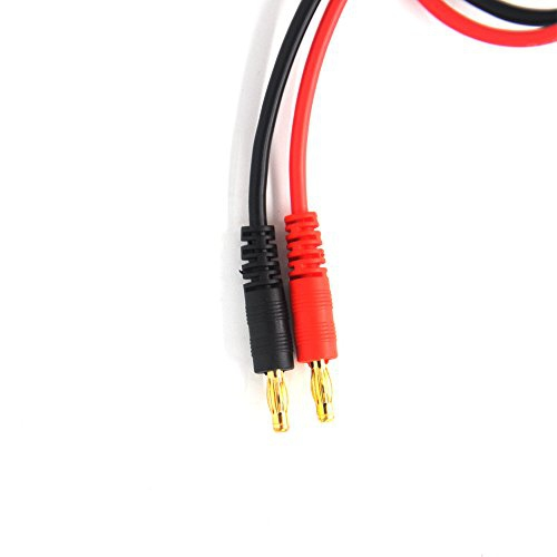 4mm Banana Plugs Battery Charge Lead Adapter Cable Padarsey EC3 Connector Plug Apex RC Products #1405 2 Pack