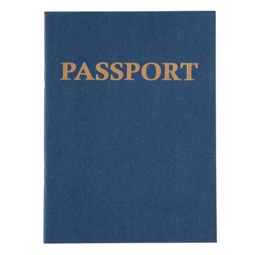 School Juvale 24-Pack Kids Blank Passport Journal Notebooks for Pretend Play