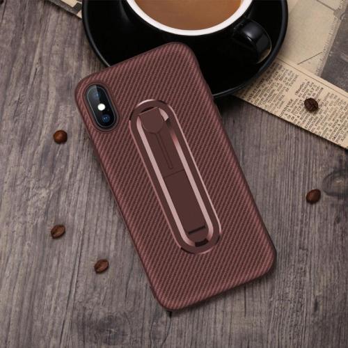 Etui Silicone Souple, Protection Bumper en TPU Lustré Coque pour Huawei P20 PRO (Marron)