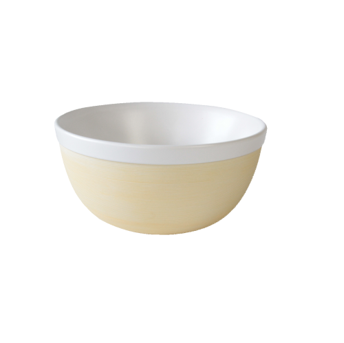 JIA Inc. Bamboo Family Bowl, Extra Large, 1250ml, White Porcelain
