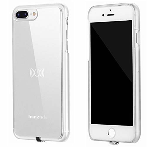 Wireless Receiver Case For Iphone 7 Plus Hanende Qi Wireless Charging Case With Flexible Lightning Connector Silver Best Buy Canada
