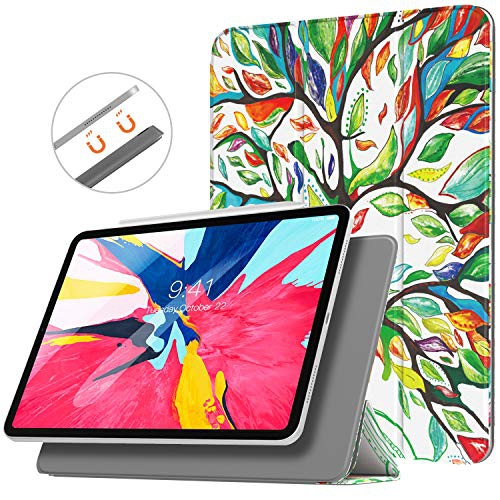 Trifold Stand Case with Auto Sleep//Wake for iPad Pro 11 2018 Support Apple Pencil Pair /& Charging TiMOVO Magnetic Smart Case for iPad Pro 11 Inch 2018, Strong Magnetic Attachment Space Gray