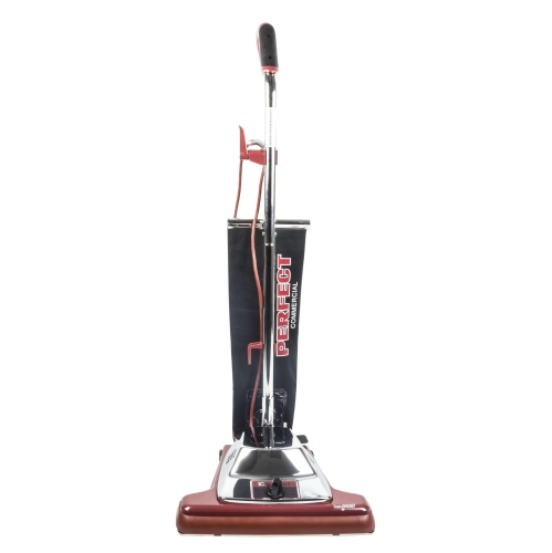 Perfect Commercial Upright Vacuum Cleaner for Carpets and Hard Floors with 9.5 Amp Motor - 6 Level Carpet Selector