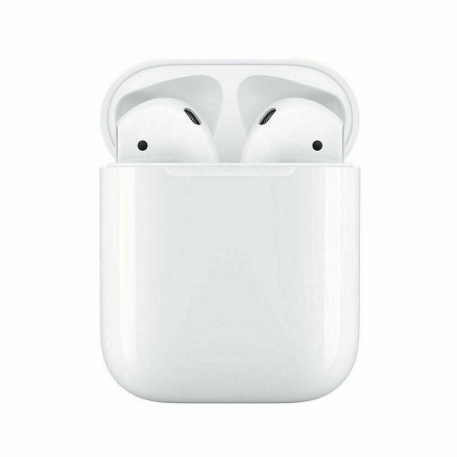 Apple AirPods 2nd With Wired Charging Case MV7N2BE/A - Never Used - Open Box