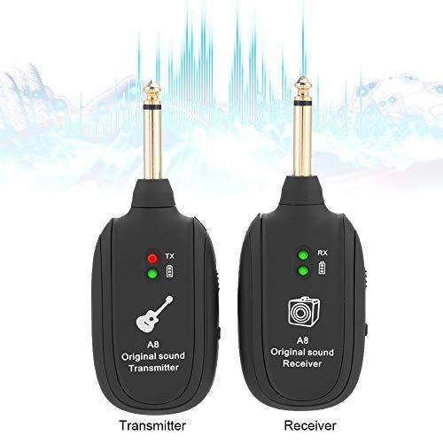 Best Buy Transmission >> Wireless Guitar Transmitter Receiver Usb Uhf Audio Transmission Connector System Set 4 Channels 50m Transmission Range