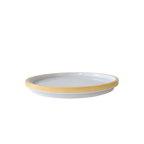 JIA Inc. Lotus Leaf Series Large Dining Plate, Porcelain