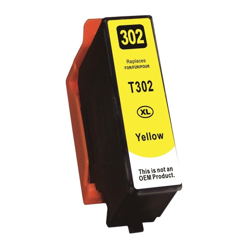 Compatible Epson T302XL420 Yellow Inkjet Cartridge By Superink