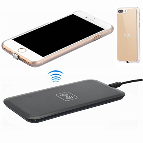 Wireless Charger Kit For Iphone 7 Plus Hanende Sleep Friendly Qi Wireless Charging Pad And Wireless Receiver Gold Best Buy Canada