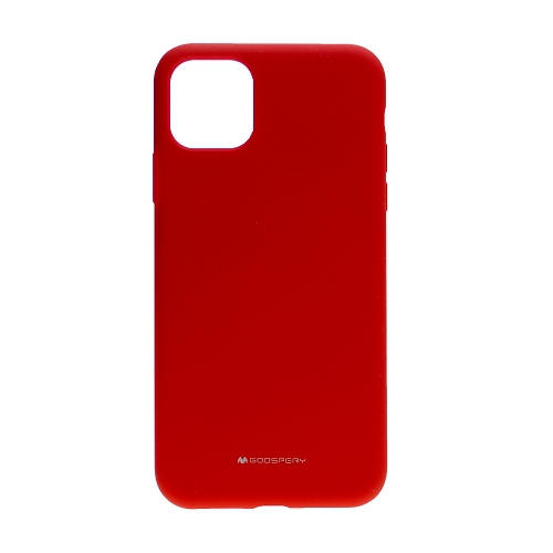For Iphone 11 Pro Max Goospery Silicone Case Red Best Buy Canada