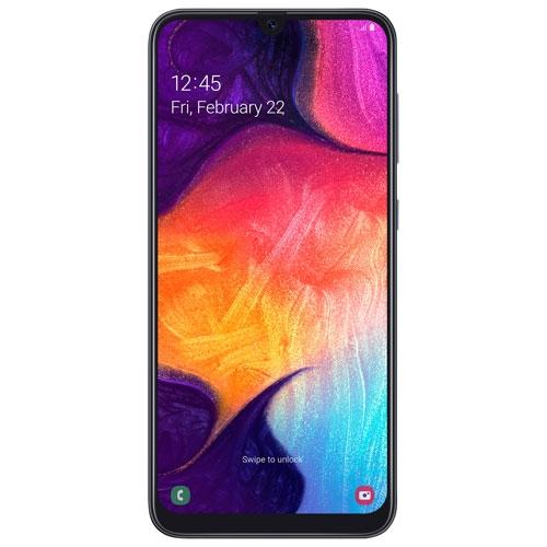 Samsung Galaxy A50 64Go - Noir - Déverrouillé - Remis à neuf