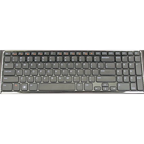 454RX 0454RX US New Laptop Keyboard Replacement for Dell Inspiron 17R N7110 Vostro 3750 XPS 17 L702X
