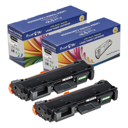 2 Compatible MLT-D118L Toners 118L for Samsung Xpress M3015DW; M3065 FW -High Yield of D118S Delivers 4,000 Pages