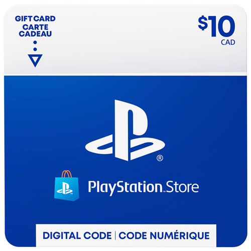 Playstation Store 10 Gift Card Digital Download Best Buy Canada