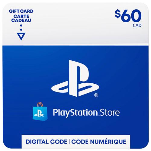 PlayStation Store $60 Gift Card - Digital Download