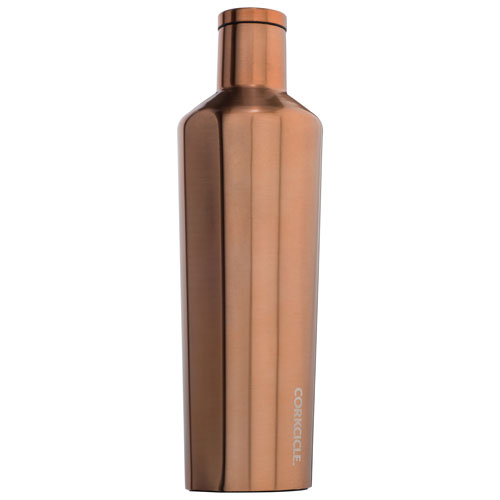 Corkcicle 750ml Stainless Steel Water Bottle - Copper