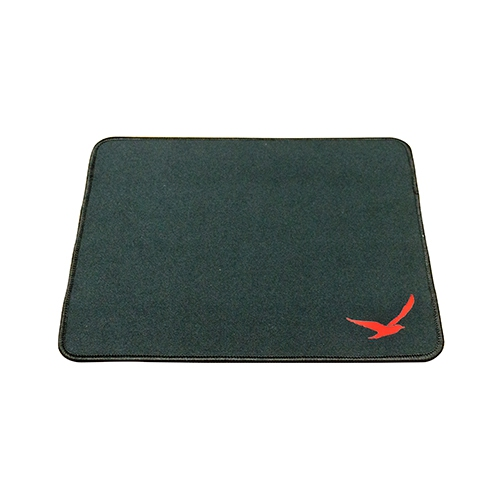 Digifast Black Mouse Pad with Anti-Fray Edge Stitching, Premium-Texture and Water Repellent Surface.