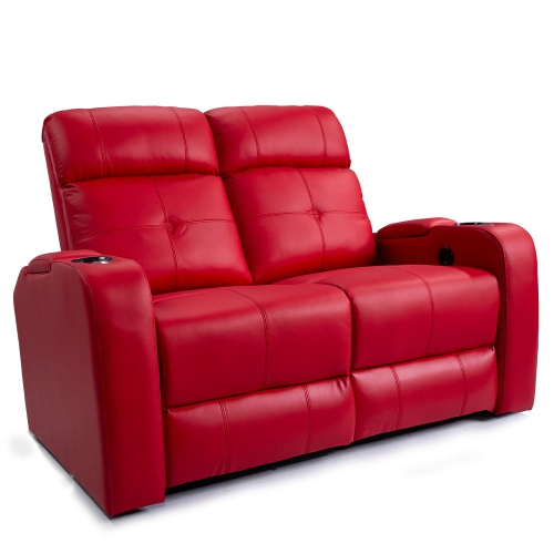 Astounding Valencia Verona Premium Top Grain 9000 Leather Power Recliner Led Lighting Home Theatre Seating 2 Seat Loveseat Creativecarmelina Interior Chair Design Creativecarmelinacom