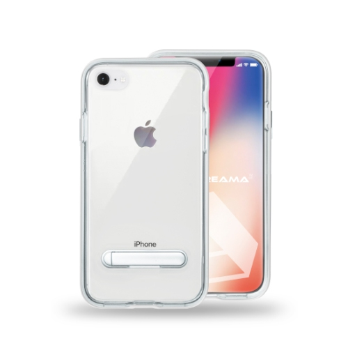 Adreama Coque Clair Avec Bequille pour iPhone 7/8