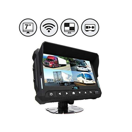 Wireless 7 Quad View Monitor With Built In Dvr Best Buy Canada