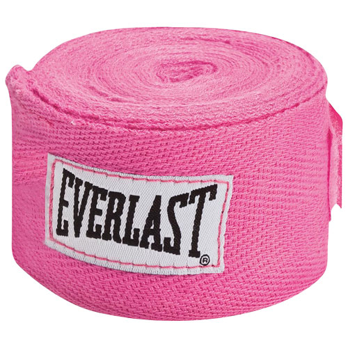 """Everlast 120"""" Hand Wrap - 1 Pack - Pink"""