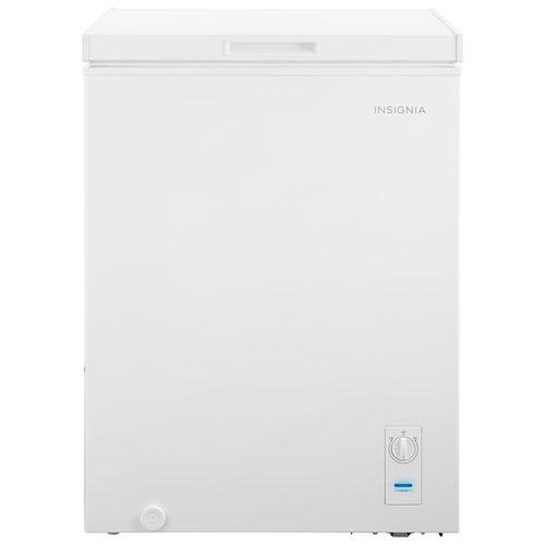 Insignia 5.0 Cu. Ft. Chest Freezer - White