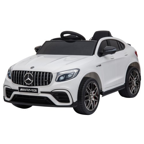 Aosom Officially Licensed Kids Ride-On Car 12V Electric Ride On Car,White