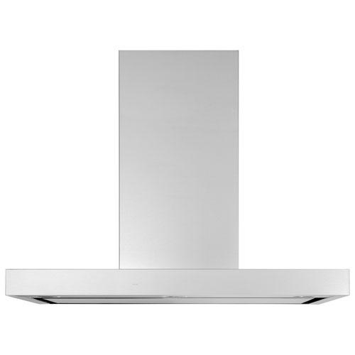 "GE Smart Designer 36"" Wall Mount Range Hood - Stainless Steel"