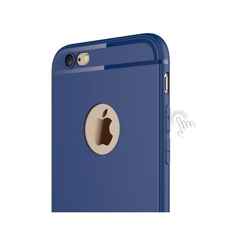 COQUE HOUSSE ETUI ULTRA FINE POUR IPHONE 6 / 6s PROTECTION SILICONE SOUPLE (BLEU)
