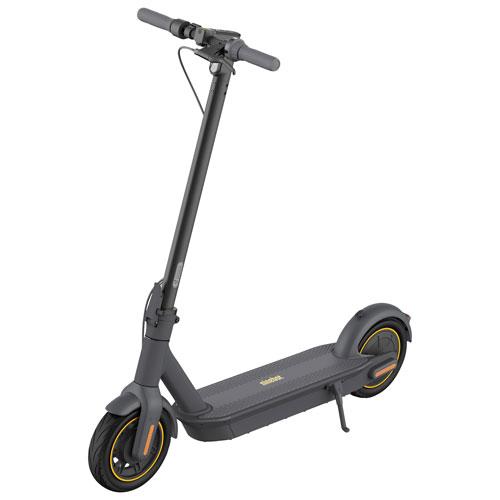 Trottinette électrique KickScooter G30P MAX Ninebot Segway - Autonomie 65 km - 30 km/h max - Gris foncé