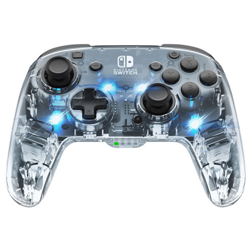 PDP Afterglow Wireless Deluxe LED Controller for Switch