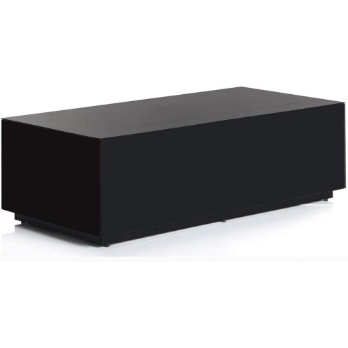 Sonorous Ctb 120 All Glass Modern Coffee Table Center Table Black Best Buy Canada