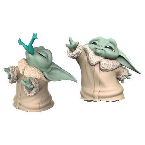 Star Wars Bounty Collection: The Child Figure Set - Froggy Snack & Force Moment