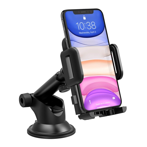 Mpow Phone Holder For Car Universal Car Phone Mount Adjustable Dashboard Cell Phone Mount Holder Cradle Compatible Iphone Best Buy Canada