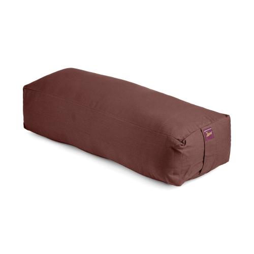 Yoga Bolster - Long Rectangular Cotton Filled - 1pc - Yogavni
