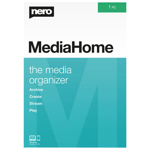 Nero MediaHome - 1 User - Digital Download
