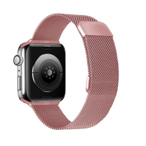 TopSave Watchband for Apple Watch 38/40mm Metal Replacement Strap for Apple Watch Series 5, 4, 3, 2, 1,Rose Gold