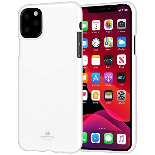 Iphone 11 Goospery Jelly TPU Case, White