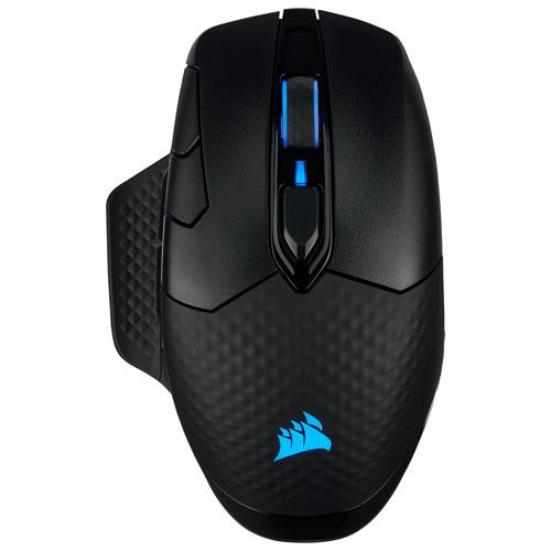 Corsair Dark Core RGB Pro 18000 dpi Wireless Optical Gaming Mouse - Black