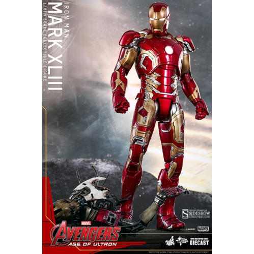 The Avengers Age Of Ultron 12 Inch Figure Movie Masterpiece Series - Iron Man Mark XLIII Die Cast Hot Toys 904123