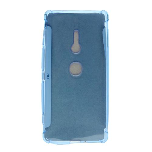 TopSave Final Sale! Sony XZ2 Edge Corner Bumper Soft Back Case, Blue