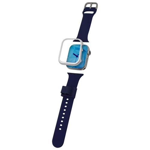 Lot d'accessoires pour Apple Watch de 40 mm d'Adreama - Bleu