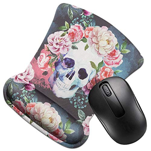 Soft Memory Foam Wrist Supprot Crimmy Ergonomic Non Slip Mouse Pad with Wrist Rest Fashion Design Mouse Mat 2