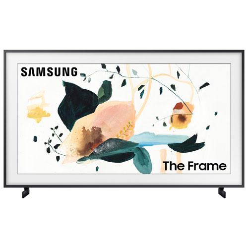 """Samsung The Frame 43"""" 4K UHD HDR QLED Tizen Smart TV - Charcoal Black"""