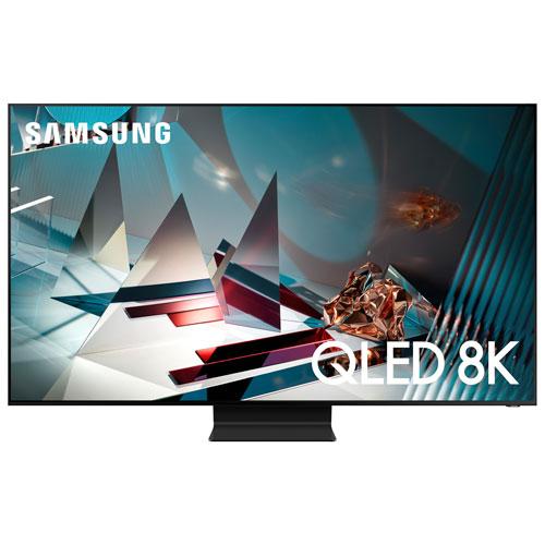 "Samsung 82"" 8K UHD HDR QLED Tizen Smart TV - Titan Black"